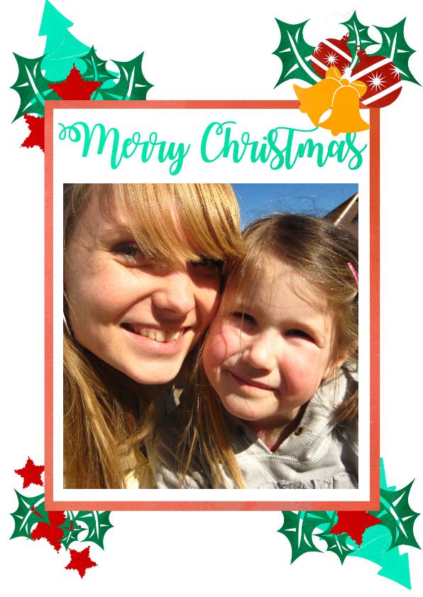 Kerstkaarten - Kerstkaart met fotokader