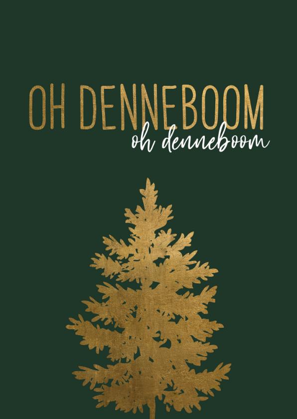 Kerstkaarten - Kerstkaart | Oh denneboom, oh denneboom