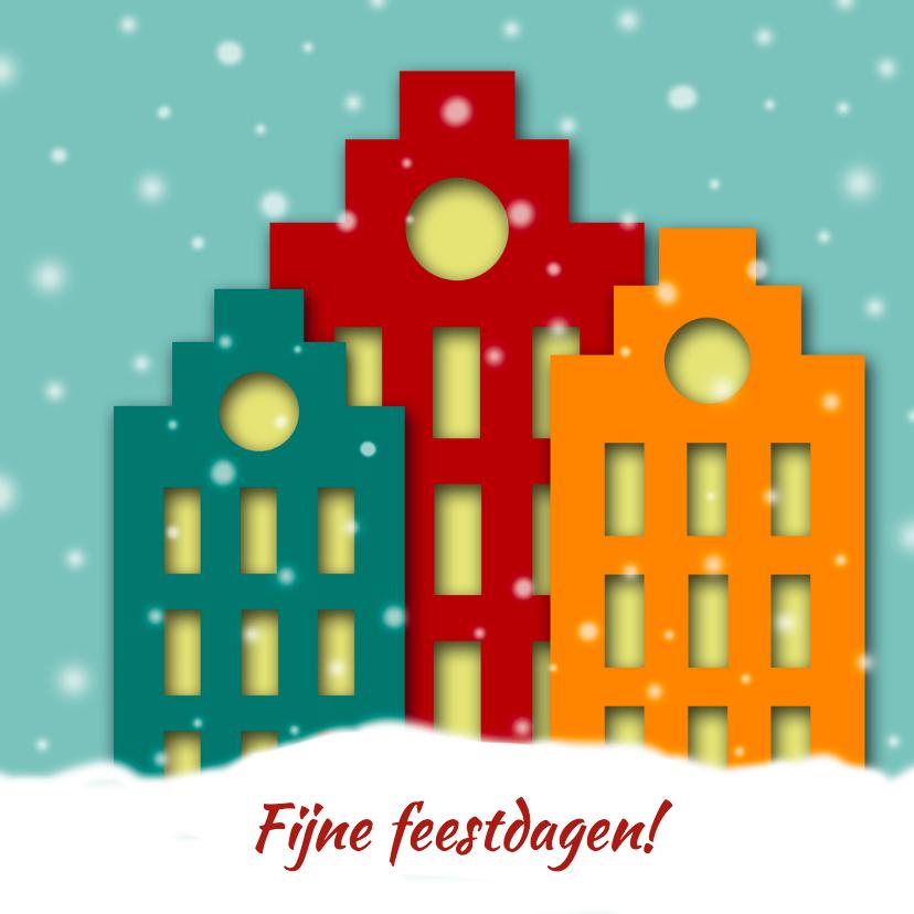 Kerstkaarten - Kerstkaart pakhuizen dag-HR