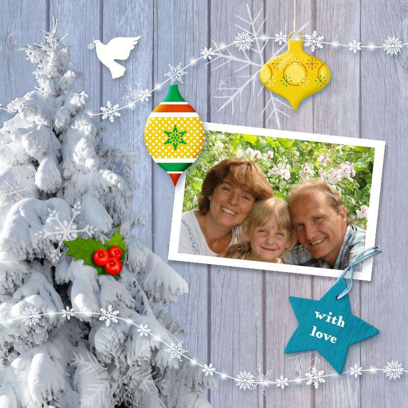 Kerstkaarten - Kerstkaart Reuze goed Nieuwjaar