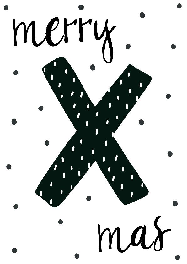 Kerstkaarten - Kerstkaart scandinavisch Xmas - WW