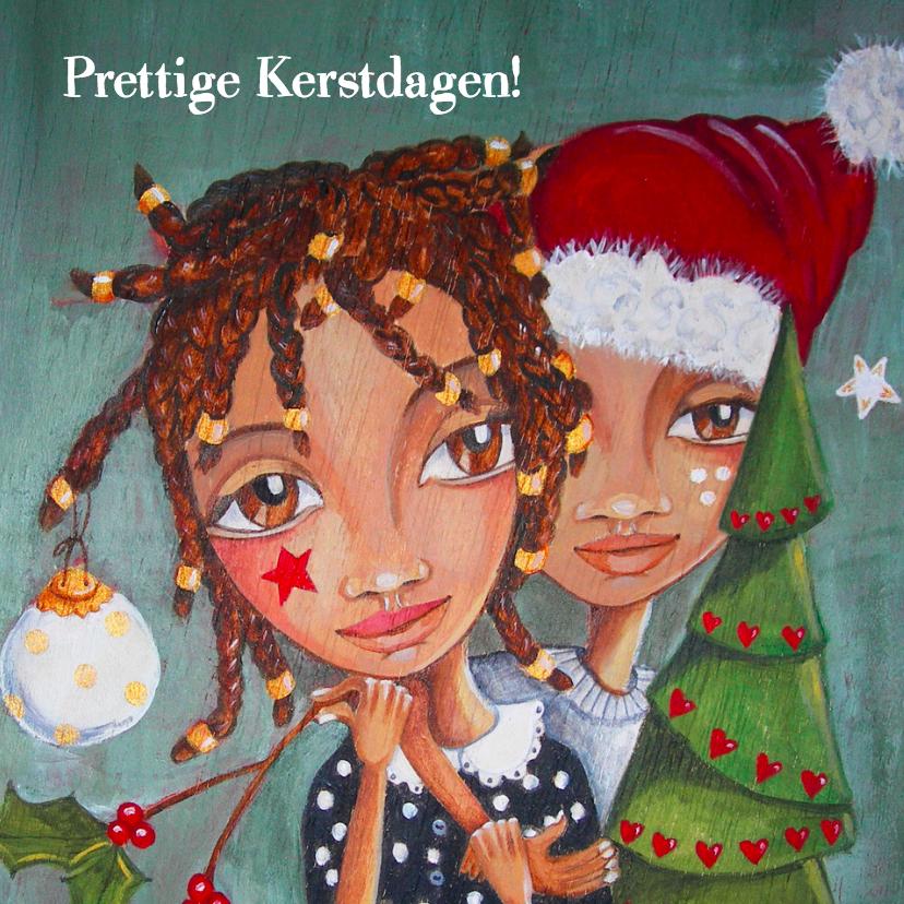 Kerstkaarten - Kerstkaart SOS Kinderdorpen Cartita