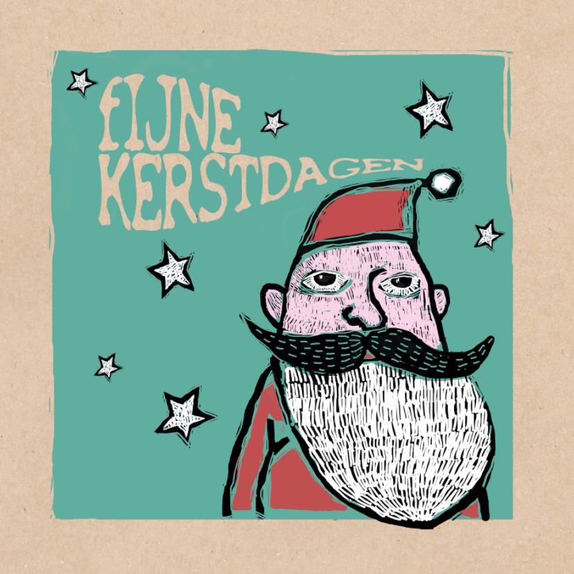 Kerstkaarten - Kerstkaart - soul Santa