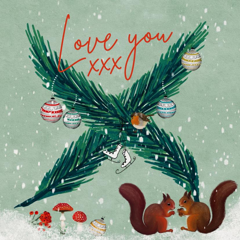 Kerstkaarten - Kerstkaart voor geliefden