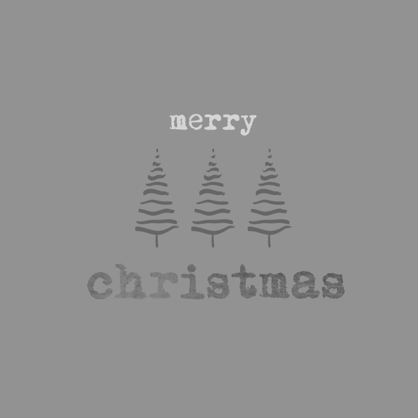 Kerstkaarten - Kerstkaarten Streepjesboom YO