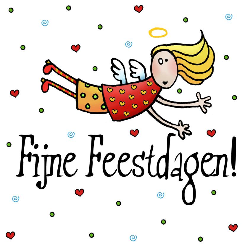 Kerstkaarten - Kerstkaartje Engel