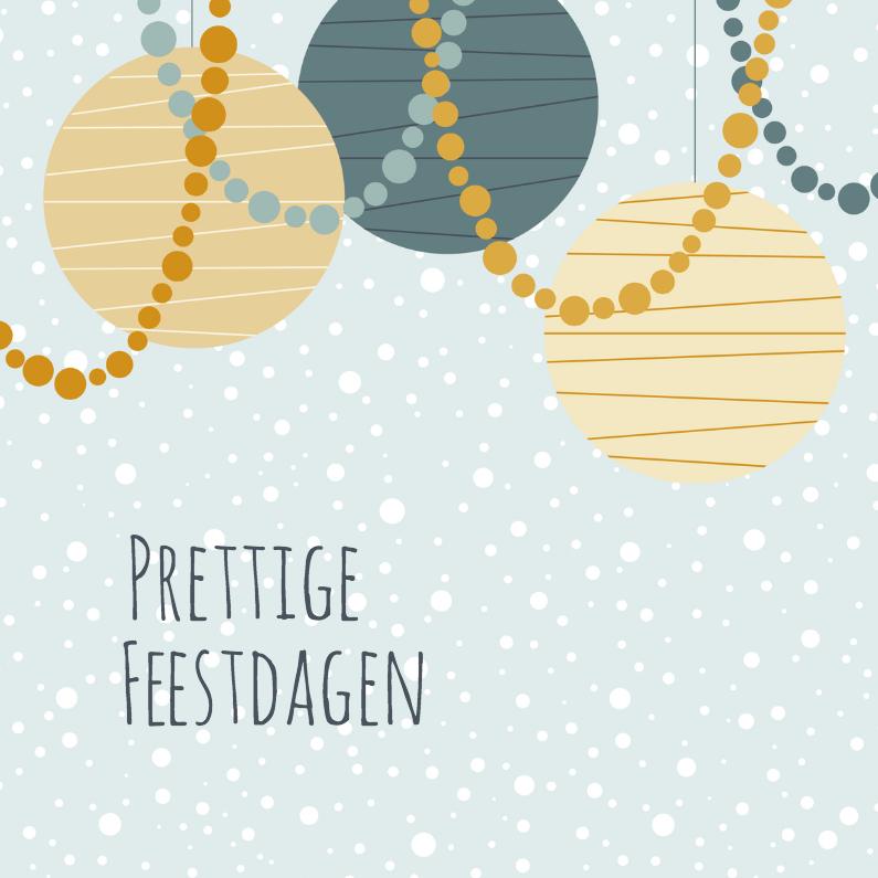 Kerstkaarten - Kerstkaartje Versiering - HB