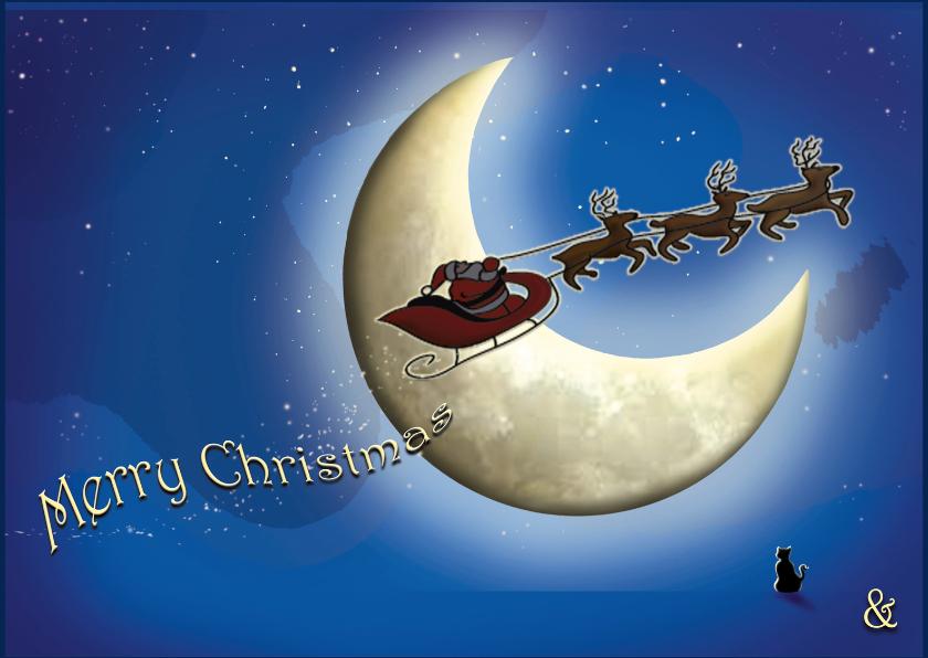 Kerstkaarten - KerstMaan