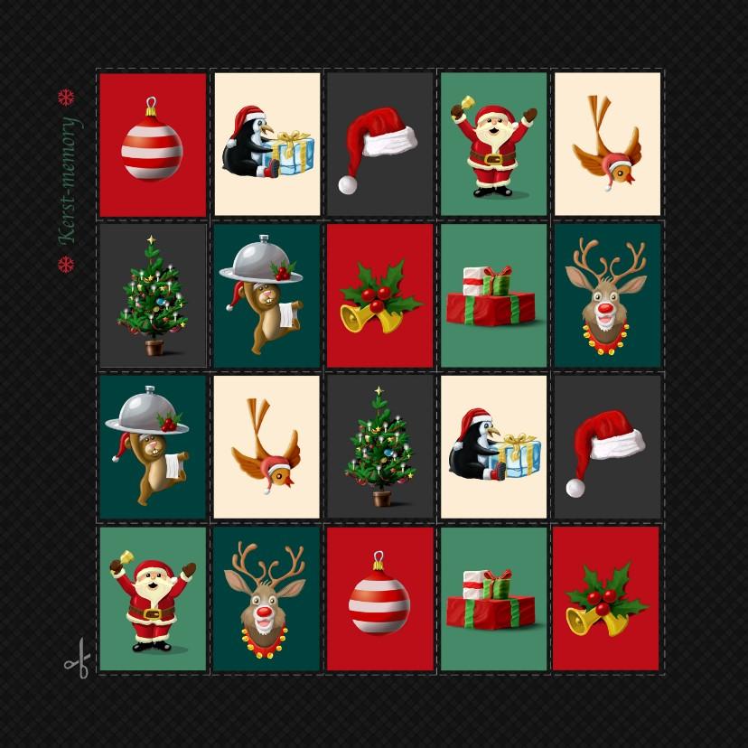 Kerstkaarten - kerstmemory