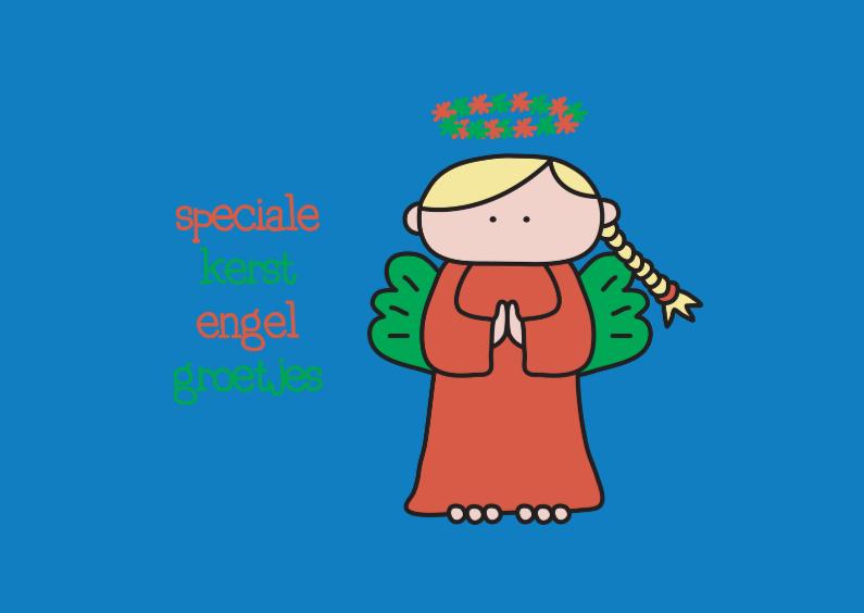 Kerstkaarten - Kerstmis Engel