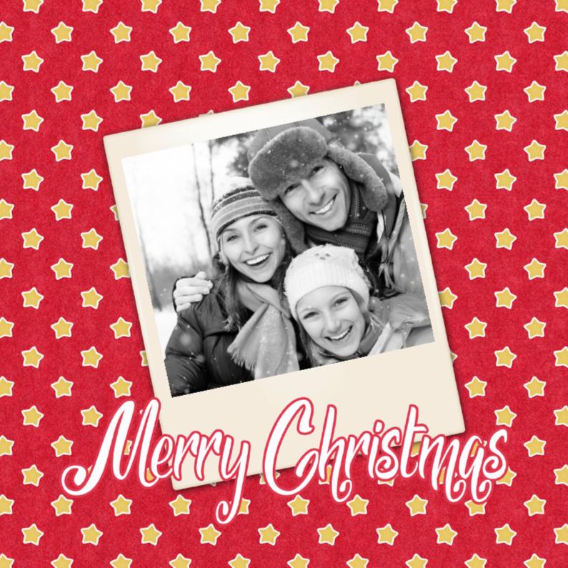 Kerstkaarten - Kerstmis Polaroid - DH