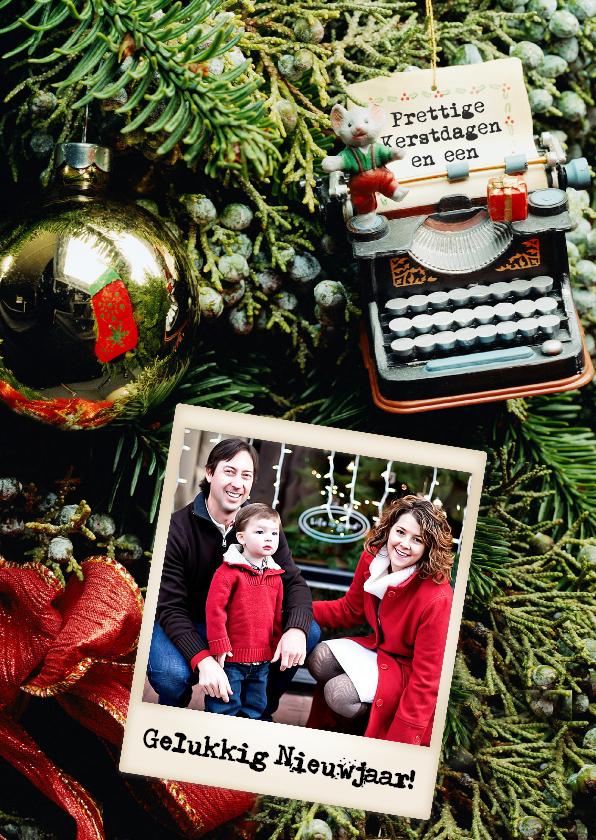 Kerstkaarten - Kerstmuiskaart staand - BK