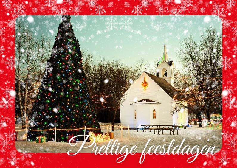 Kerstkaarten - Klassieke kerstkaart foto