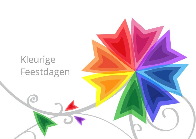 Kerstkaarten - Kleurige Feestdagen two