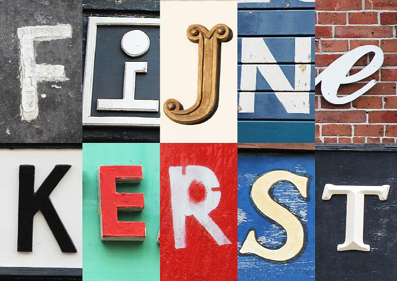 Letters - Fijne kerst 1