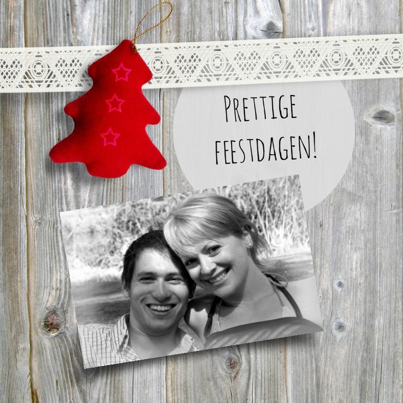Kerstkaarten - Lief Kerstkaart met kerstboompje