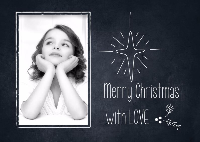 Merry Christmas-Chalkboard 1