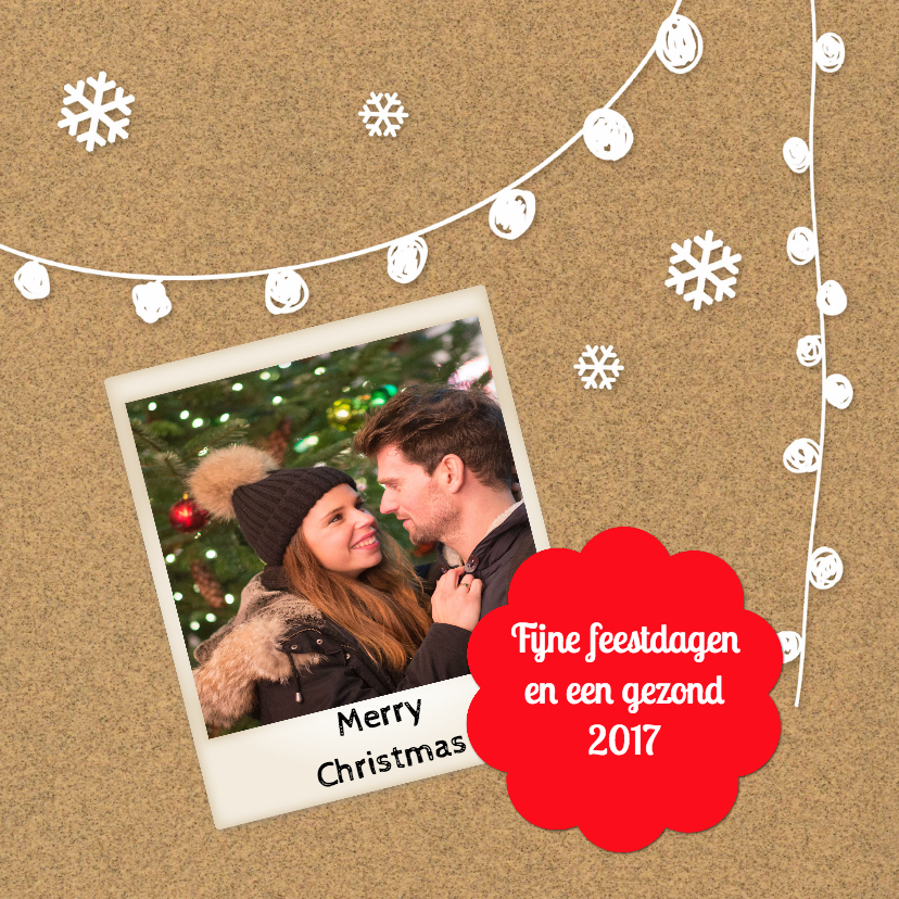 Kerstkaarten - Merry Christmas - DH