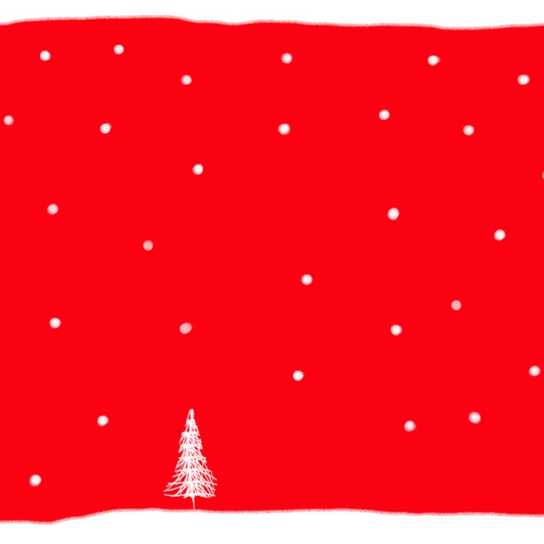 Kerstkaarten - Mini kerstboompje