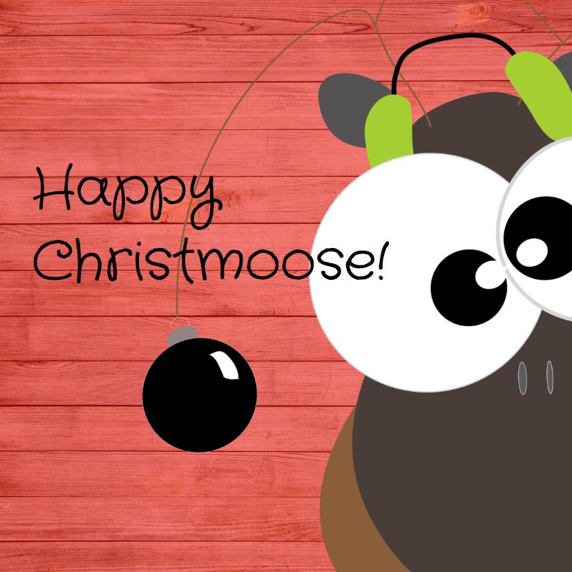 Kerstkaarten - Mo Cards humor kerst moose