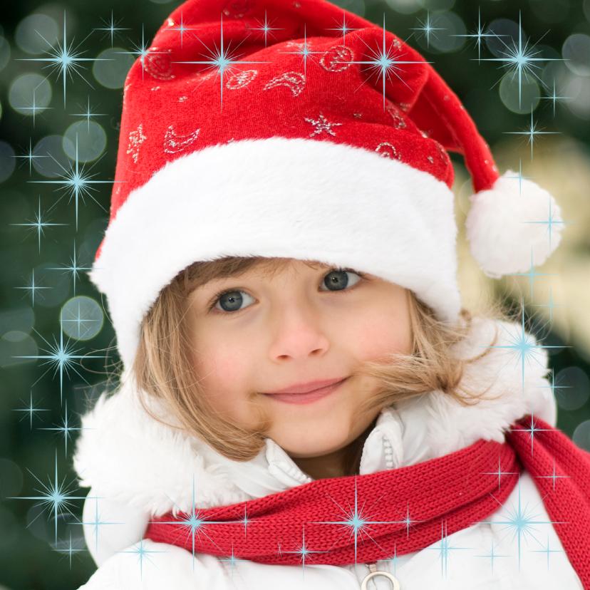 Kerstkaarten - Mooie kerstkaart met eigen foto