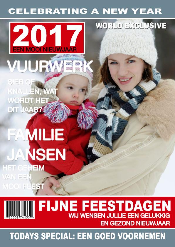 Kerstkaarten - Nieuwjaar Tijdschrift 2017