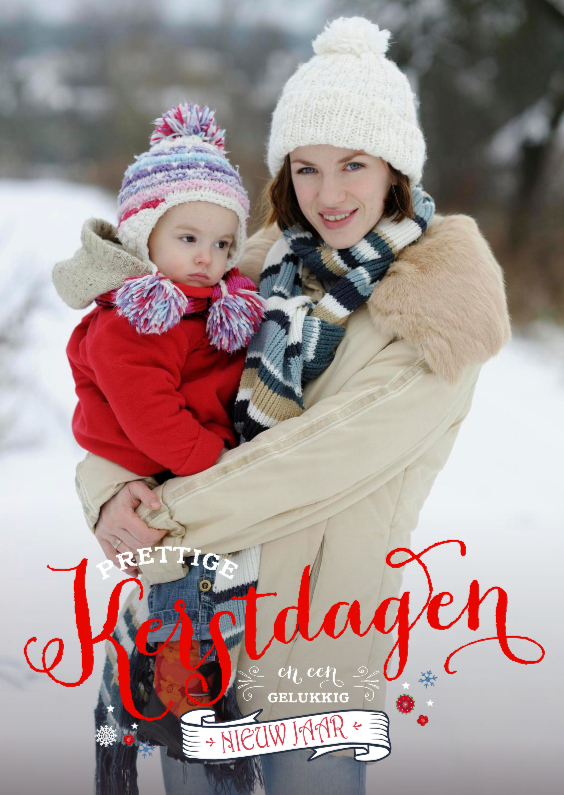 Kerstkaarten - Prettige Kerstdagen Nieuwjaar