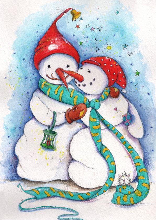 Kerstkaarten - Samen een fijne kerst