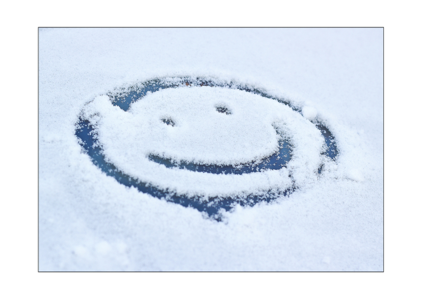 Kerstkaarten - Smile ! It's winter