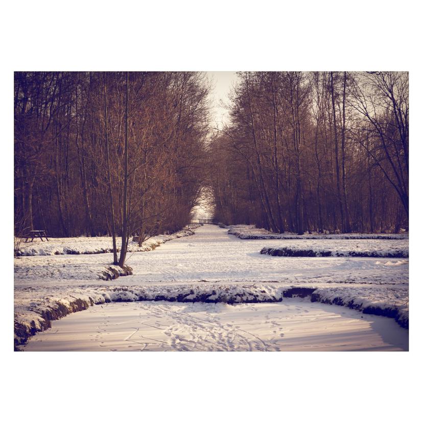 Kerstkaarten - Snowy Christmas