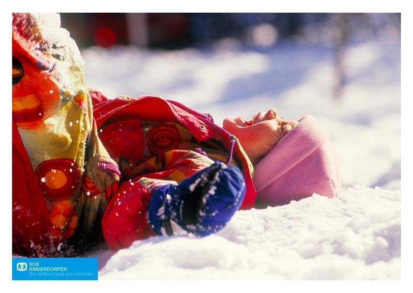 Kerstkaarten - SOS Kinderdorpen Kerstkaart Vrolijk
