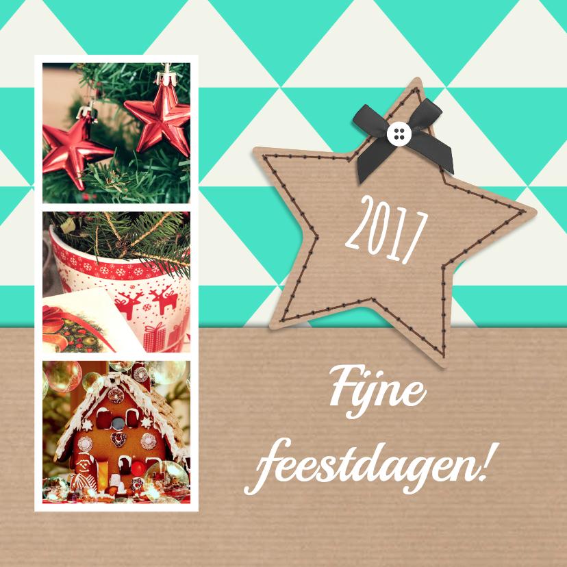 Kerstkaarten - Sweet Christmas 3 foto's - DH
