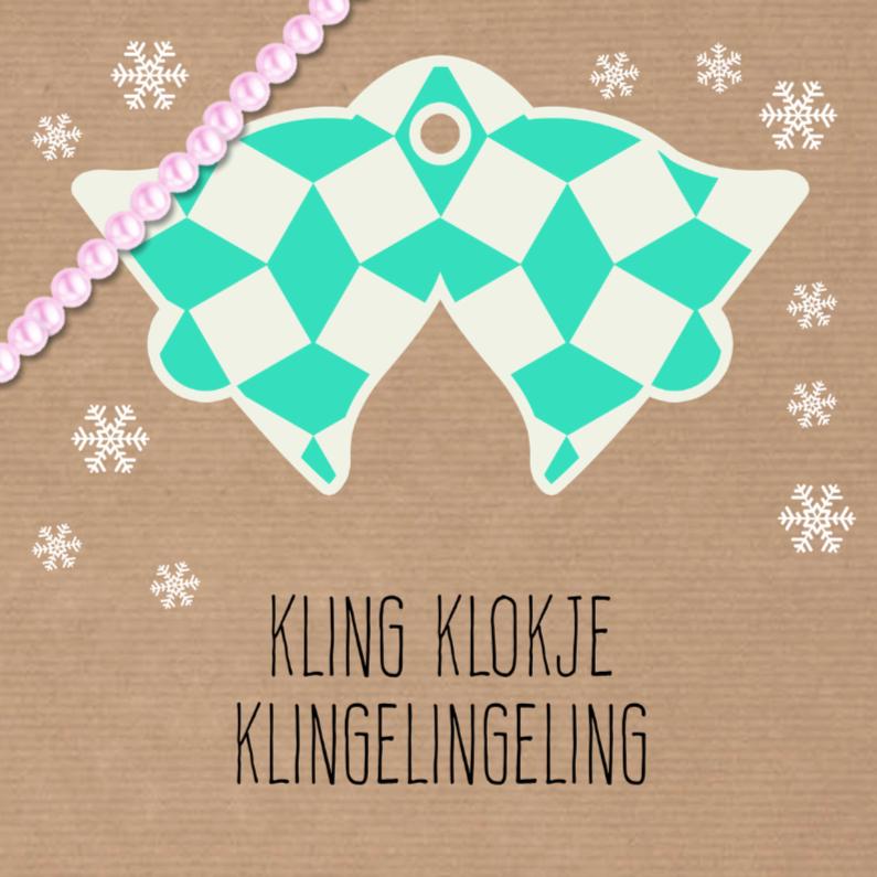Kerstkaarten - Sweet Christmas Klokken - DH