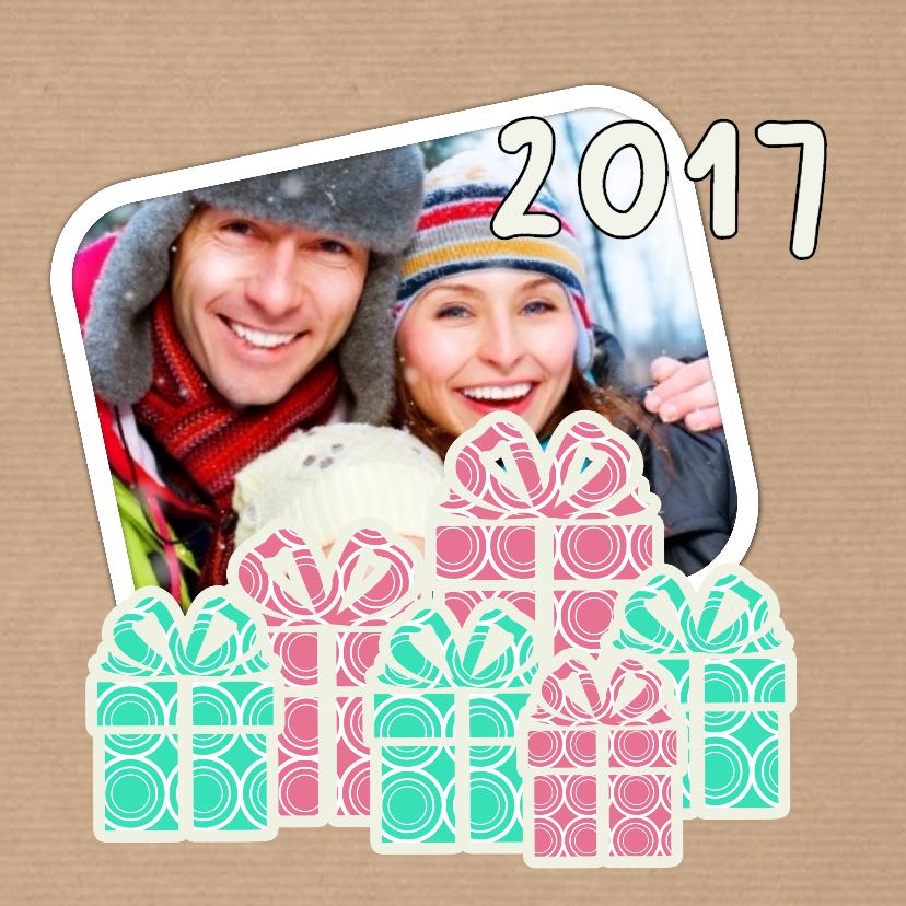 Kerstkaarten - Sweet Christmas Pakjes - DH