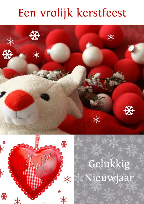 Kerstkaarten - Vrolijk Kerstfeest cliniclowns