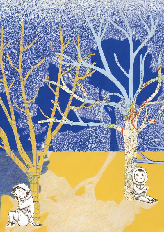 Kerstkaarten - wintergroet