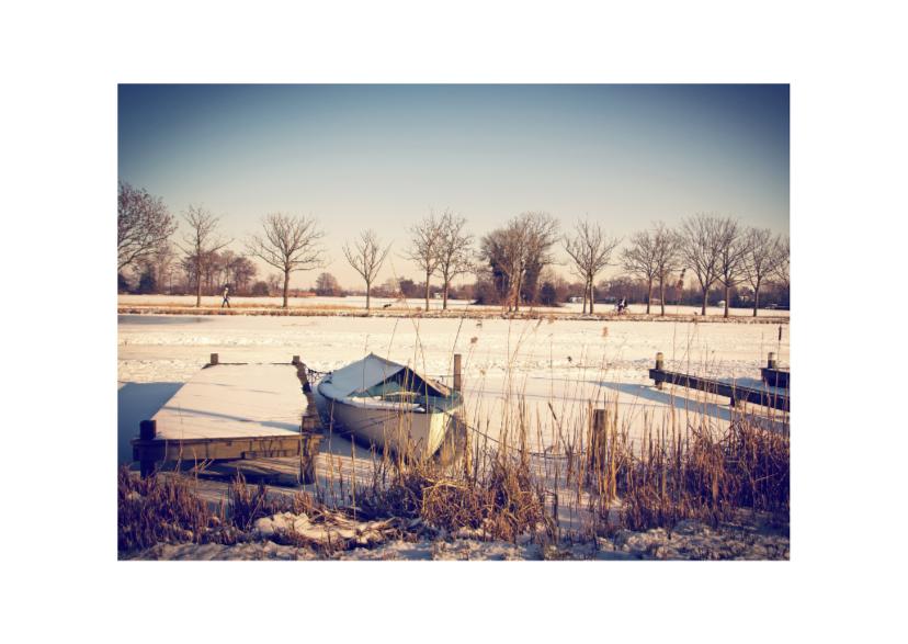Kerstkaarten - winterse groeten uit Holland