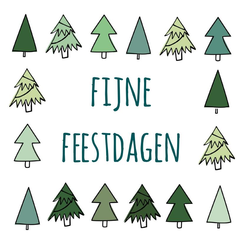 Kerstkaarten - Winterse-kerstdagen