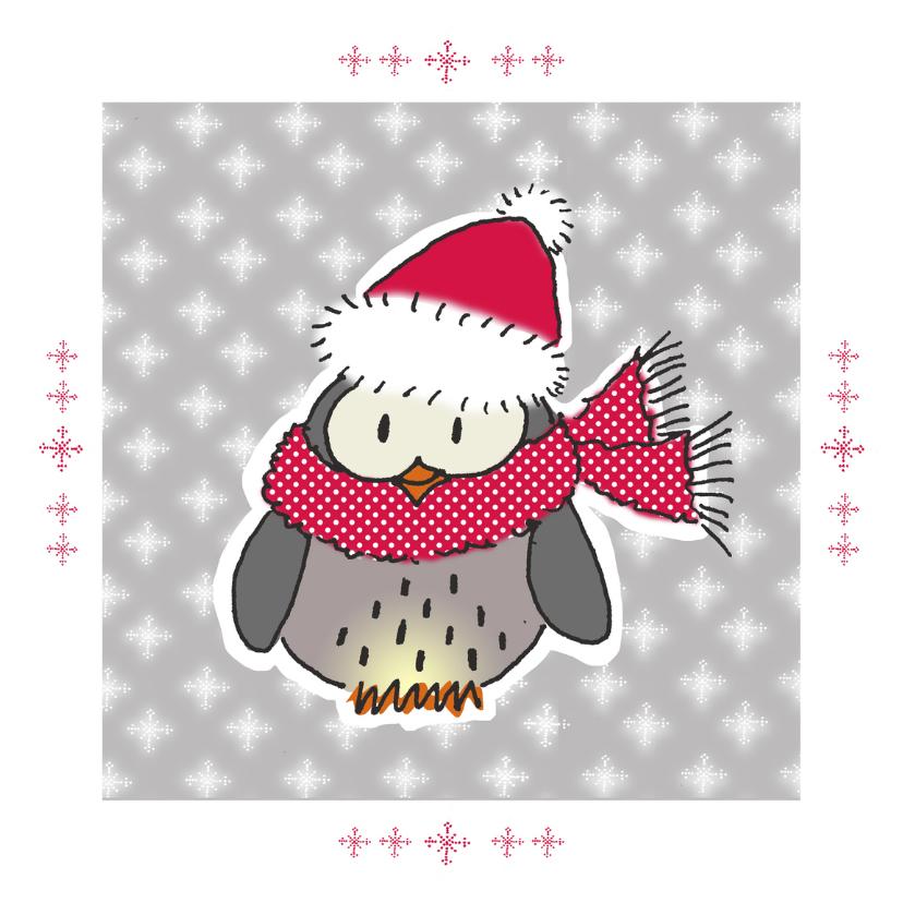 Kerstkaarten - Winteruiltje