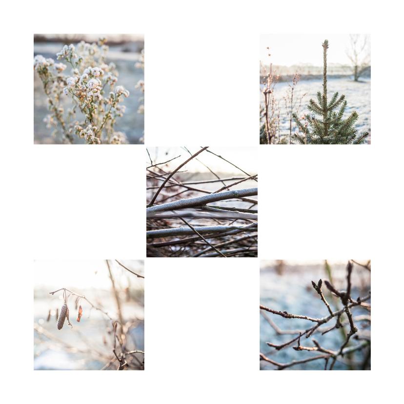 Kerstkaarten - winterwonderlandsquare