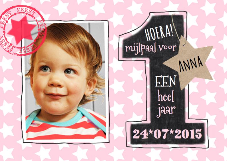 1 jaar meisje sterren 1