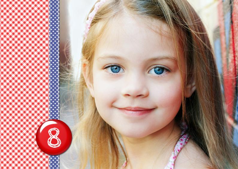 Kinderfeestjes - 13112 Uitnodiging Eigen foto