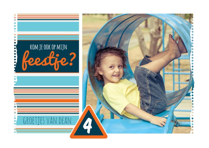 Kinderfeestjes - 15310 Uitnodiging kinderfeestje
