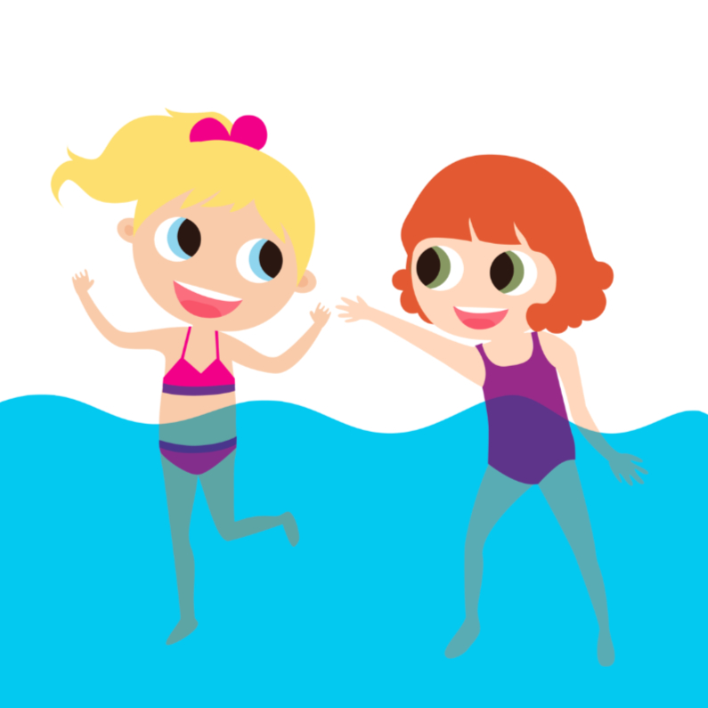 Kinderfeestjes - Alies Design zwemparty