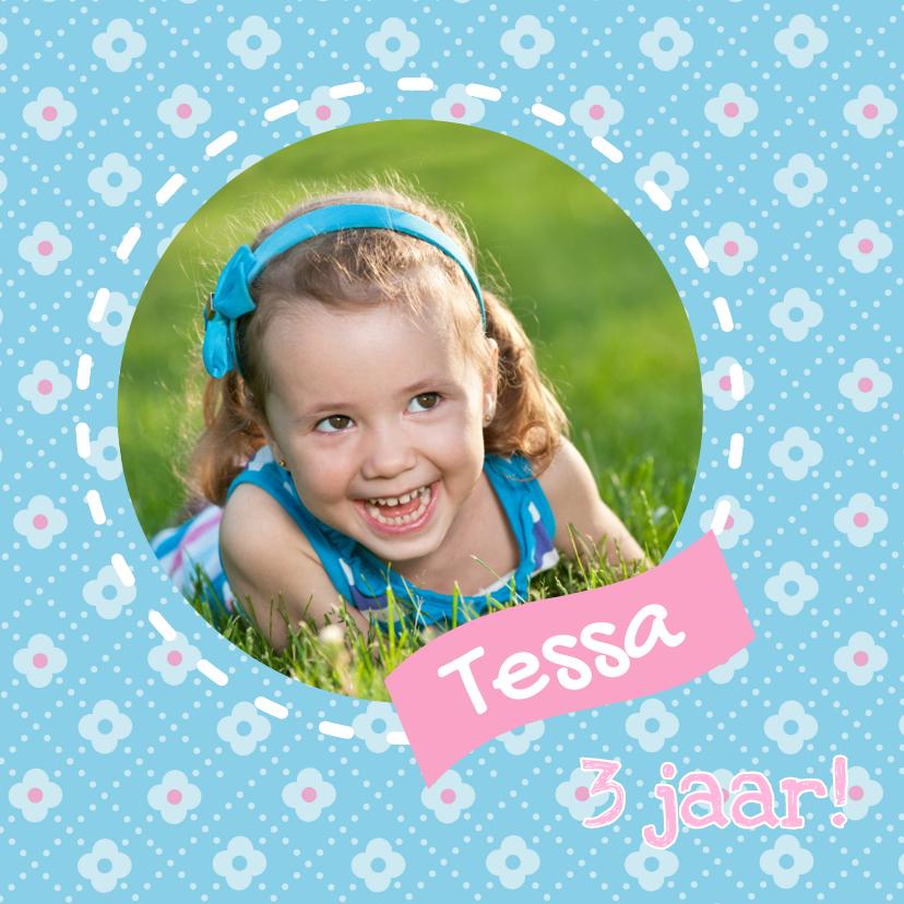 Kinderfeestjes - Bloemetjes Roze Lief 1LS3