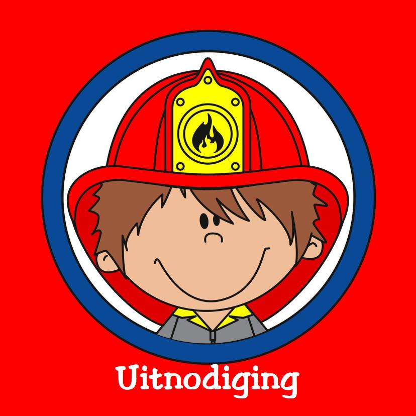 Kinderfeestjes - Brandweer uitnodiging