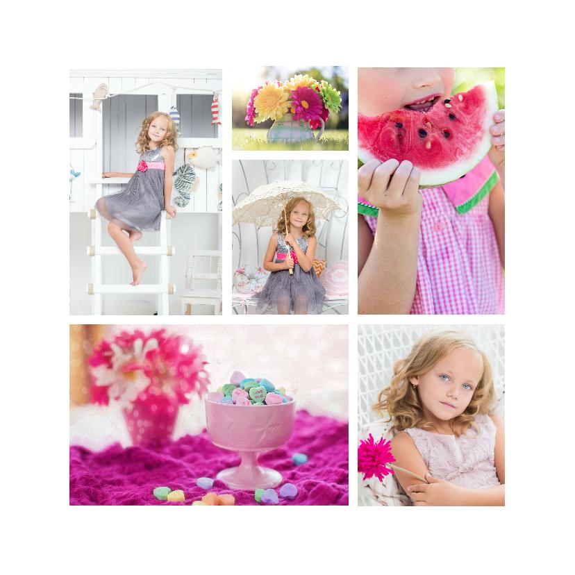 Kinderfeestjes - Collage kinderfeest - DH