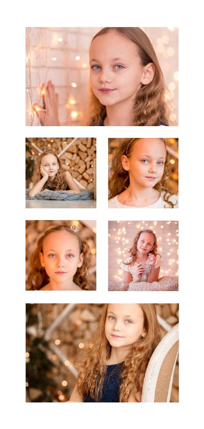 Kinderfeestjes - Collage Kinderfeestje langwerpig met 6 foto's