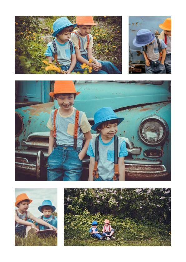Kinderfeestjes - Collage Kinderfeestje met 5 foto's