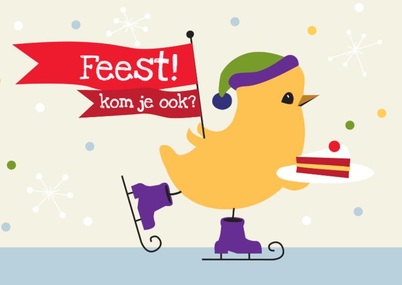 Kinderfeestjes - Feest! (Foto aan de binnenkant)